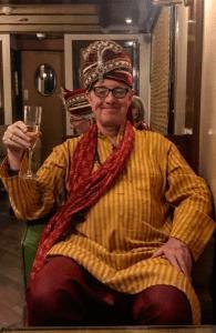 Henry cheers