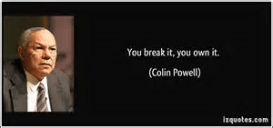 you break it