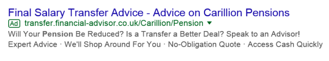carillion scam