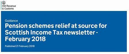 Scottish tax relief