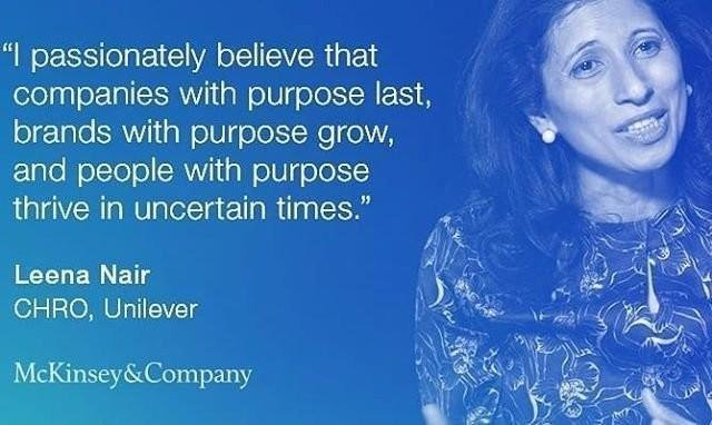 social purpose uniliver