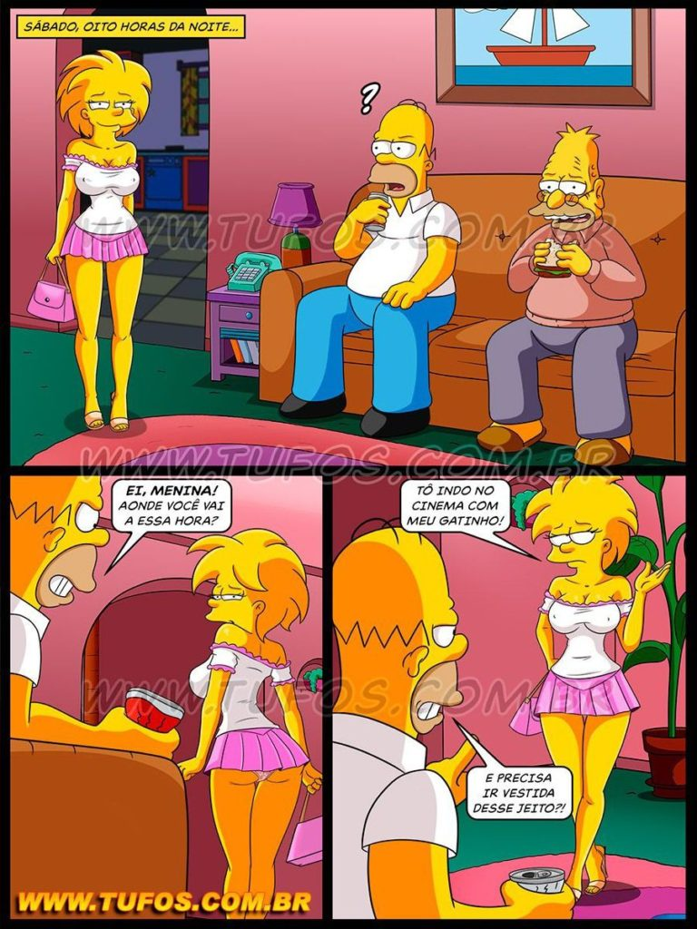 from Collin lisa simpson porn free