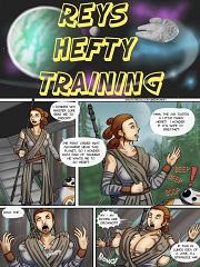 Rey's Hefty Training- [UberMonkey]
