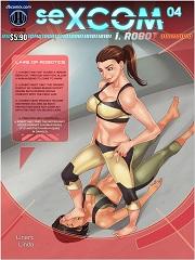 Sexcom 4- I, Robot- [Dbcomix]