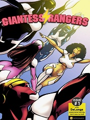Giantess Rangers- [BotComics]