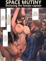 Space Mutiny Enslaving The Female Captain