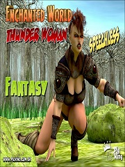 Enchanted World- Thunder Woman- [By PigKing]