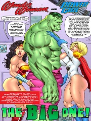 Wonder Woman & Power Girl- The Big One!
