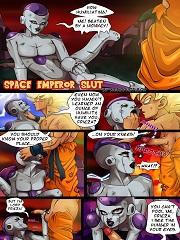 DBZ- Space Emperor Slut- [Nearphotison]