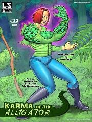 Karma of the Alligator- By Locofuria