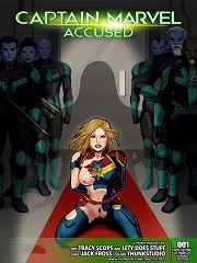 Captain Marvel Accused- [By Tracy Scops]