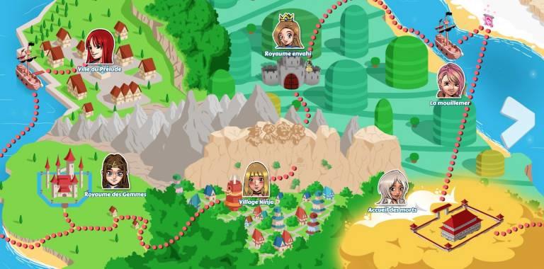 Les mondes de Hentai Heroes partie 1