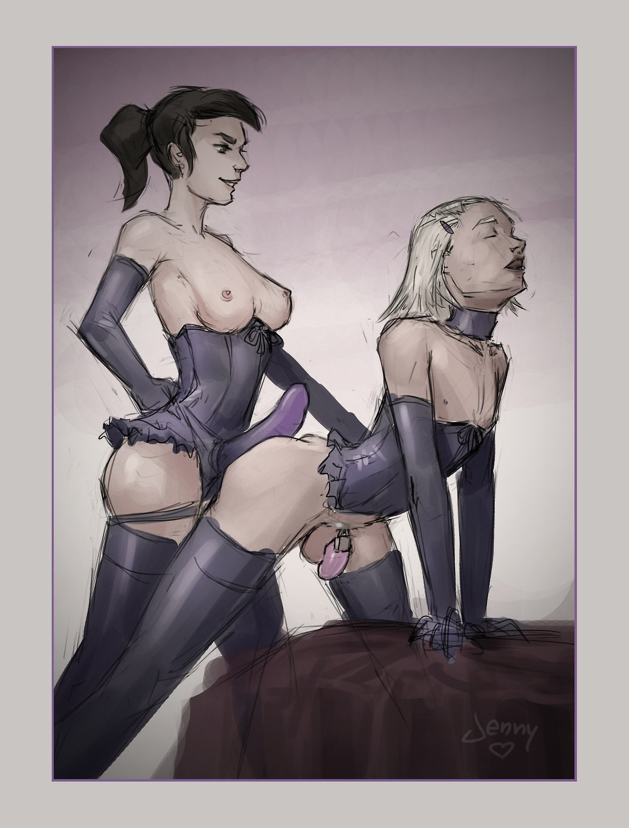 pegging and chastity tumblr