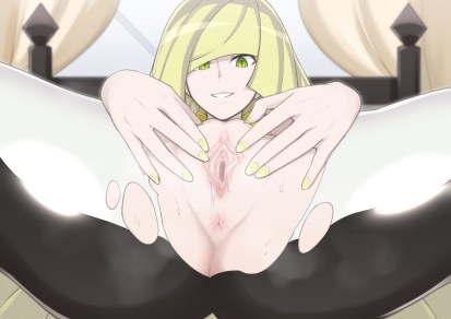 Lusamine Pokemon Sun and Moon Hentai 30