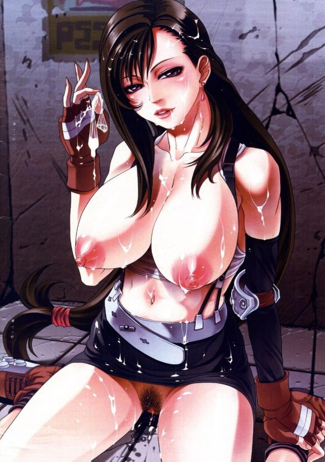 Thirty Hentai Drawings Of Tifa Lockhart From Final Fantasy VII
