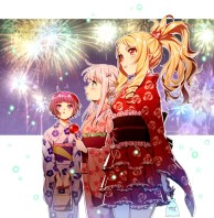 Moe Japanese Firework Artwork 03