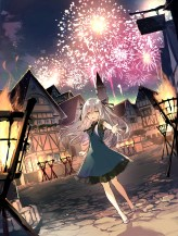 Moe Japanese Firework Artwork 11
