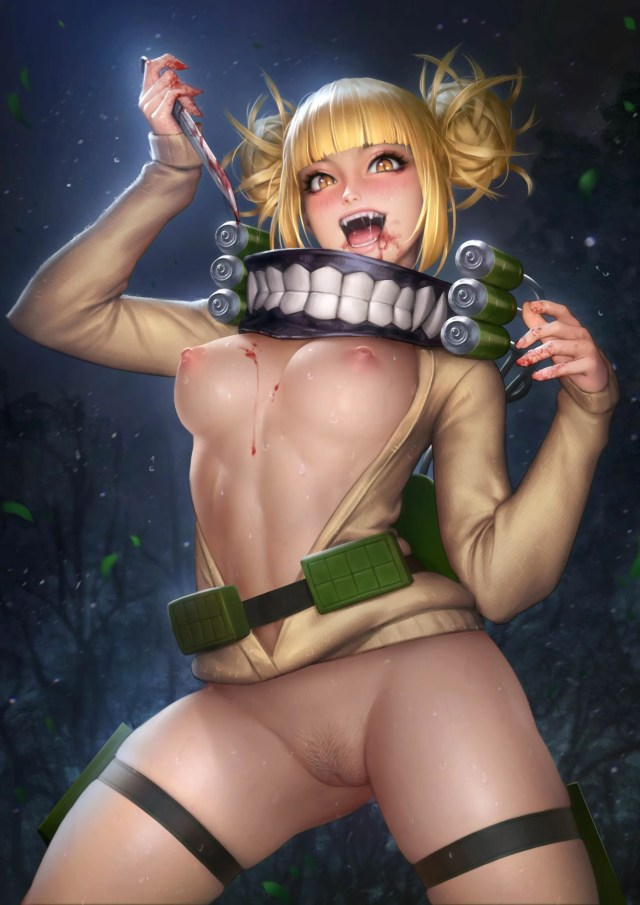 Himiko Toga My Hero Academia Hentai Drawings