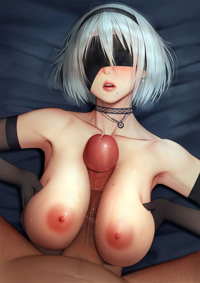 More 2B Hentai Drawings From Nier: Automata