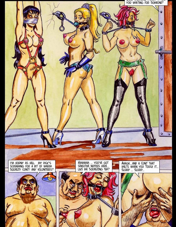 Fansadox – Ariel Torture Ch.1