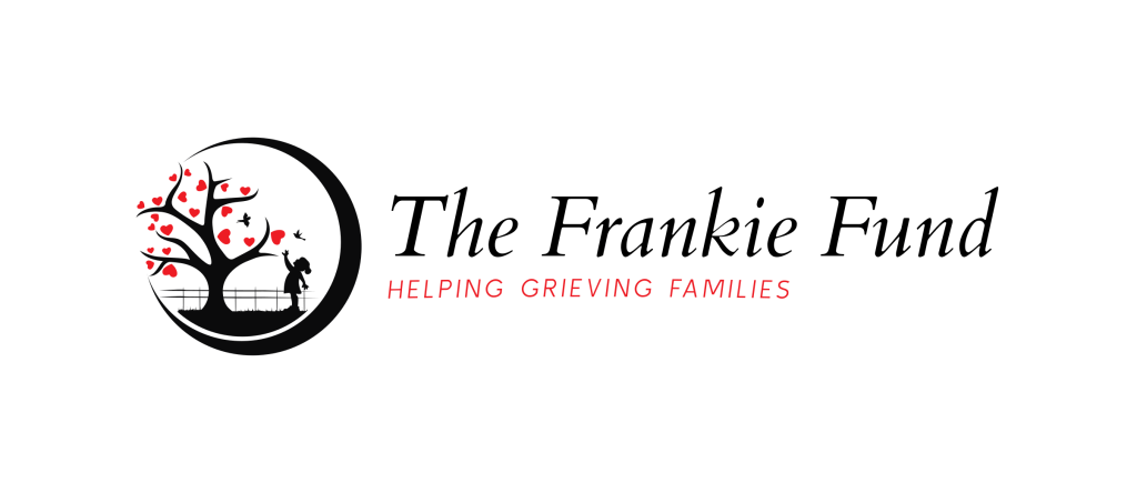 The Frankie Fund Logo - Child Reaching into a Tree of Hearts - Imagery Depicts The Father, the Son, The Holy Spirit