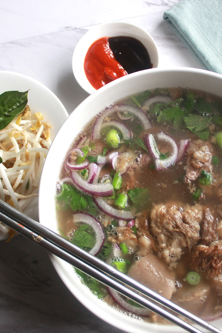 Saigon Style Beef Pho Phở Nam Noodle Soup Heo Yeah Yum