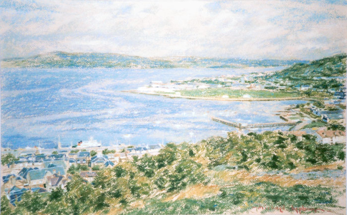 Seasscape of Cardwell Bay, Gourock
