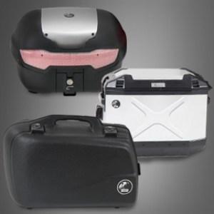 Zijkoffers en topkoffers bagage systemen Hepco&Becker
