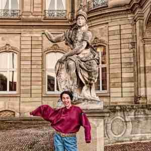 Antik Säule Rom Stuttgart Sommer Hepco