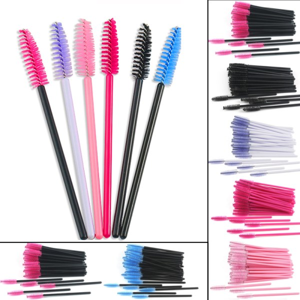 Eye Lashes Cosmetic Brushes Set