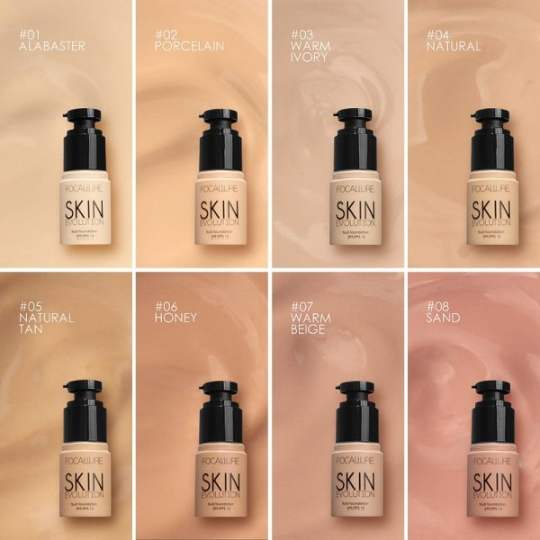 Face Liquid Foundation Cream