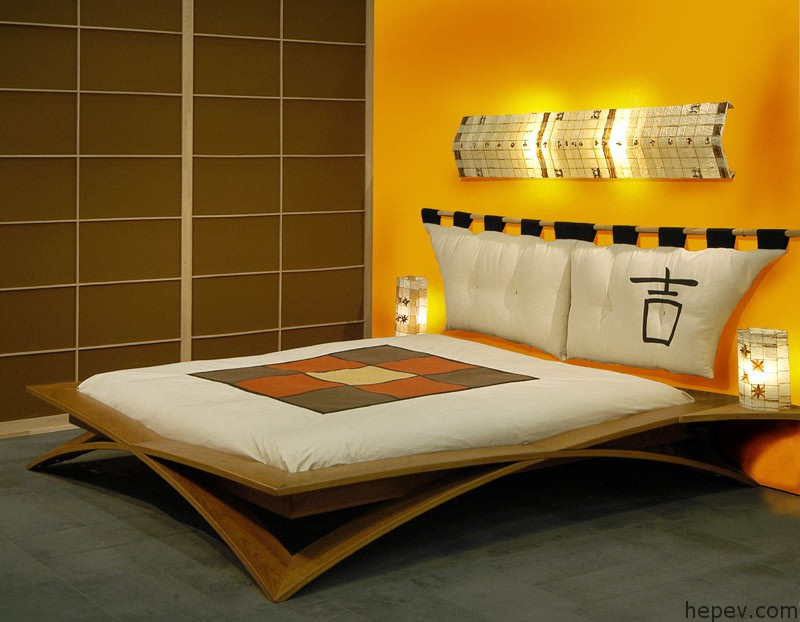 asian bed