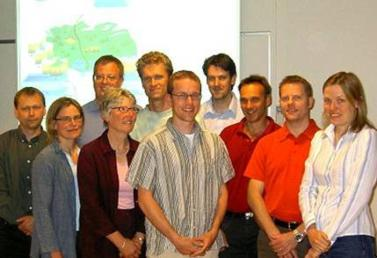 Hydrologists at SMHI in 2006