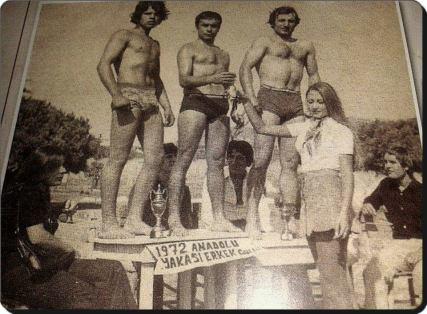 Eski Istanbul - 1972 Erkek Vucut Gelistirme