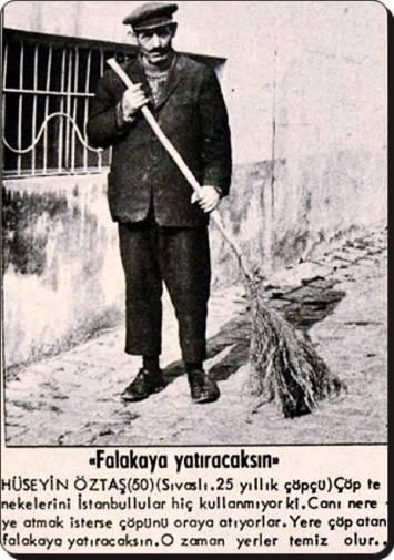 Eski Istanbul - Copcu 1950 ler