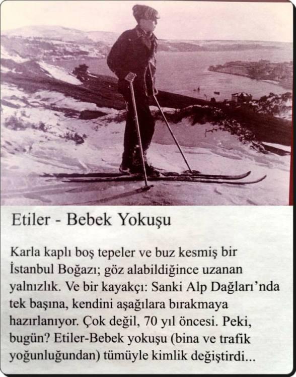 Eski Istanbul - Etiler Bebek Yokusu