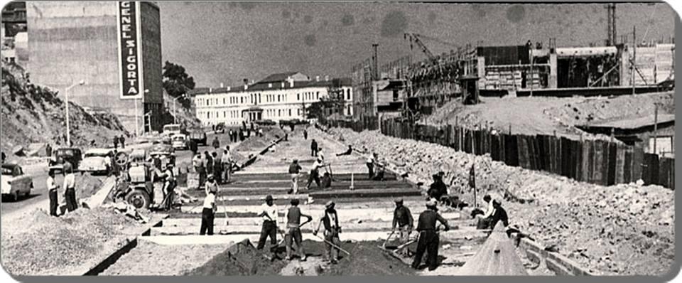 Eski Istanbul - Fındıklı 1957