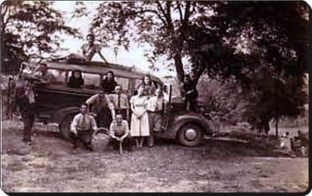 Eski Istanbul - Icerenkoy Kadıkoy Halk Otobusu 1949