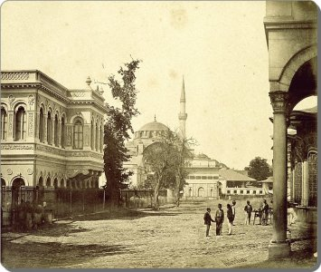 Eski Istanbul - Tophane Kasrı 1855