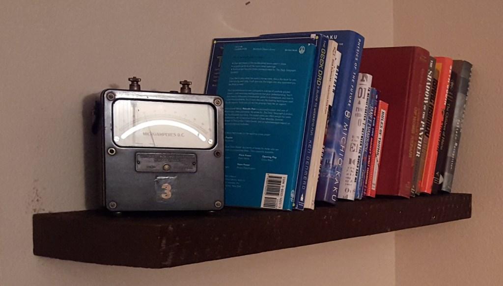 Seventeen-year bookshelves