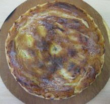 Russian Pirog with Cabbage and Eggs