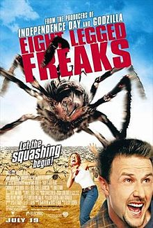 poster film eight legged freaks
