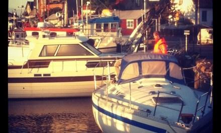 Höst och båtlyft
