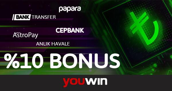 Youwin Ödeme Bonusları