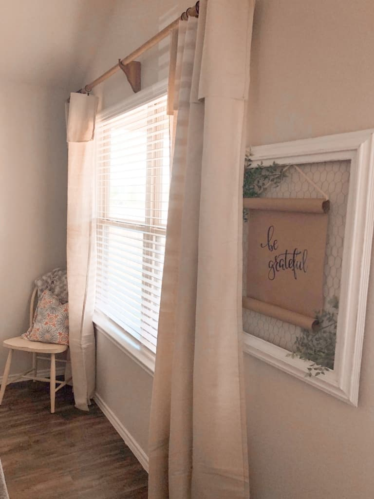 diy curtains from drop cloths