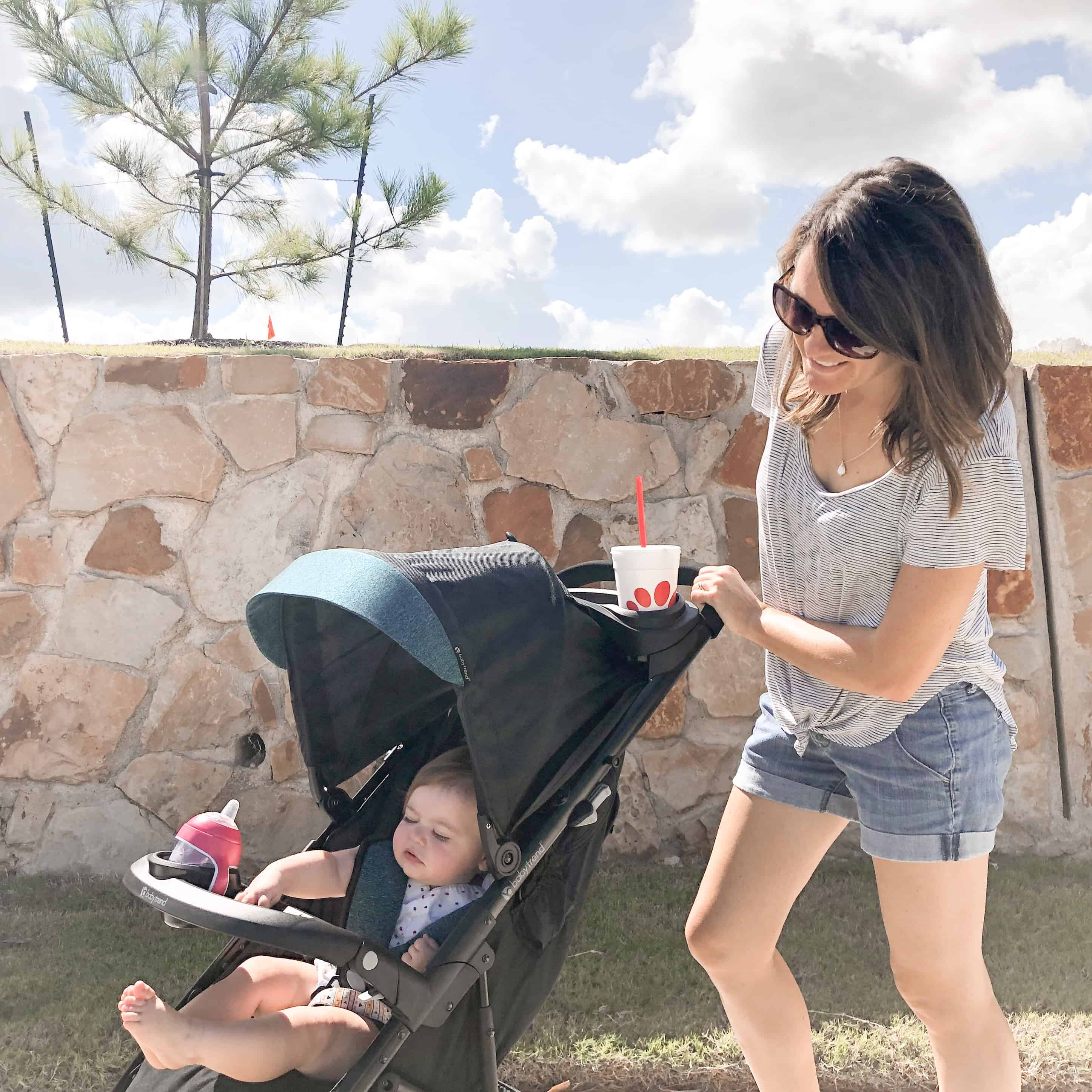 Stroll Into Fall with Baby Trend's Tango Travel System