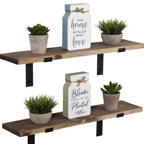 Modern Farmhouse Shelves: My Fave Affordable Picks