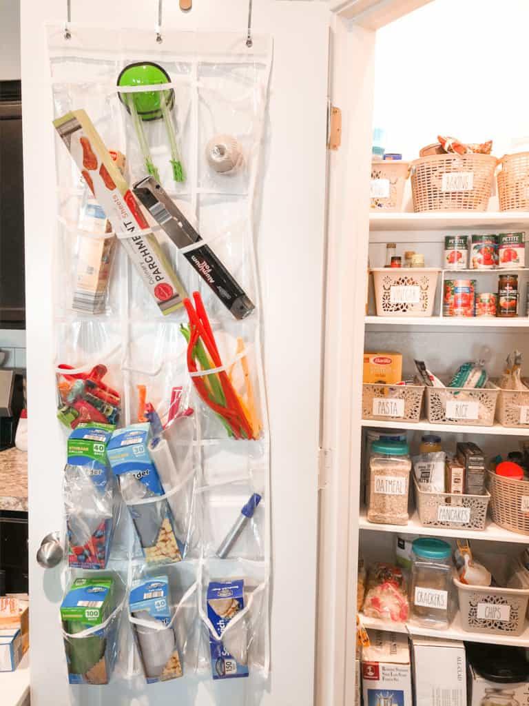 dollar store pantry organization