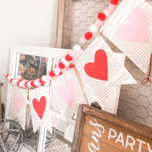 Home Tour: Valentine's Day Home Decor