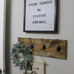 Farmhouse Style Diy Towel Rack Using Scrap Wood Her Happy Home
